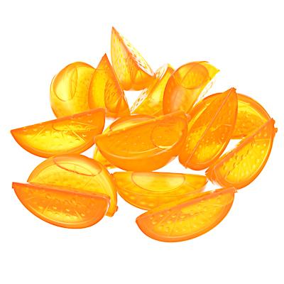 """892-244 Лед многоразовый 15шт """"Дольки апельсина"""" в сетке"""