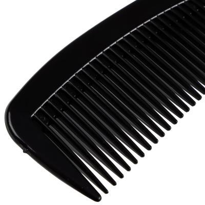 319-042 Расческа-гребень, пластик, 22x5 см, черный