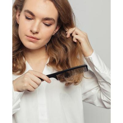 319-042 Расческа гребень для волос ЮниLook, 22х5 см, черный