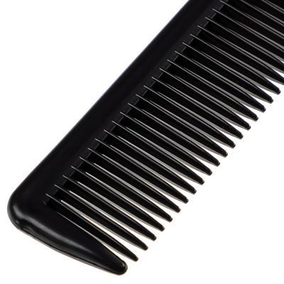 319-047 Расческа-гребень карбоновая, эффект антистатик, 22x3 см, черный