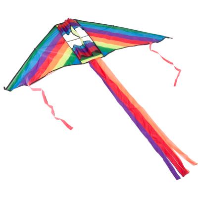 """134-002 Воздушный змей, полиэстер, 130см, """"Радужный"""""""