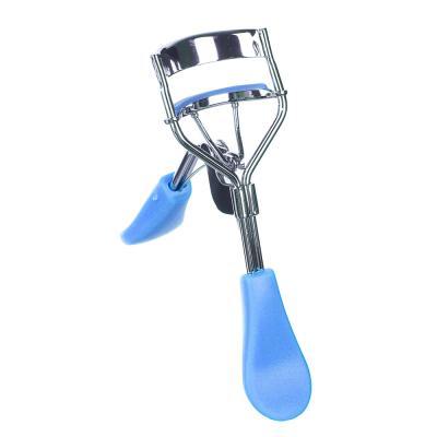 357-032 Зажим для загибания ресниц, металл, пластик, 9,5см, 3 цвета