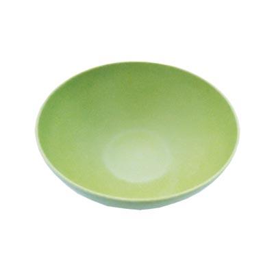 883-039 СЛАВЯНА Салатник бамбуковое волокно, 20см, зеленый, BF20748