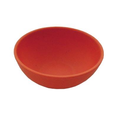 883-044 СЛАВЯНА Салатник бамбуковое волокно, 10см, красный, BF20797