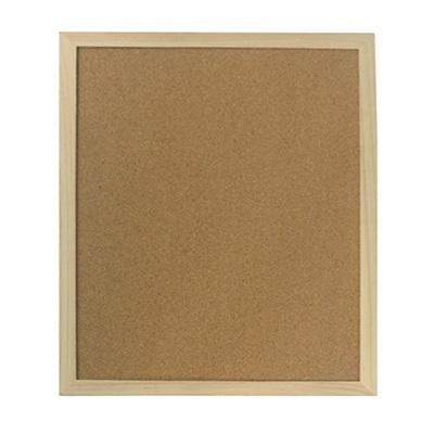 526-255 Доска пробковая для объявлений 30x40см, деревянная рамка