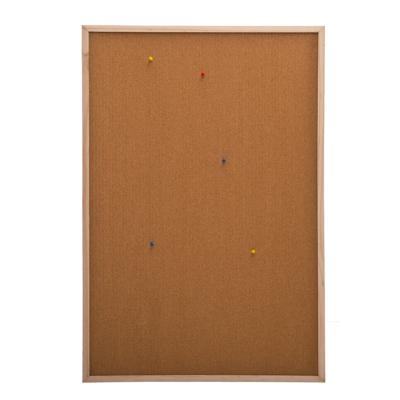 526-256 Доска пробковая для объявлений 60x90см, деревянная рамка