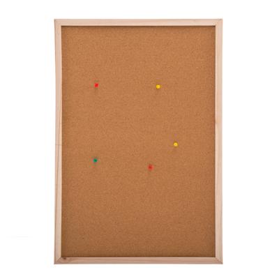 526-258 Доска пробковая для объявлений 40x60см, деревянная рамка
