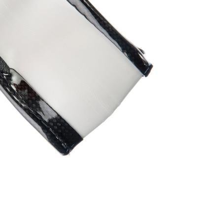708-040 NEW GALAXY Оплетка руля, экокожа, комбинированная, черный, разм. (М)