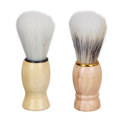346-007 ЮниLook Помазок для бритья, деревянная основа, искусств.ворс 80%, свиной ворс 20%, 9,5x3см, 2 диз.
