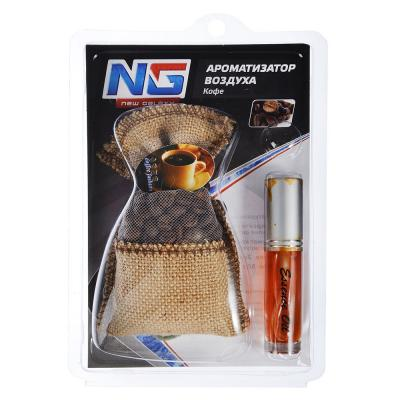 "794-184 Ароматизатор в машину в мешочке, аромат кофе, ""Coffee"" NEW GALAXY"