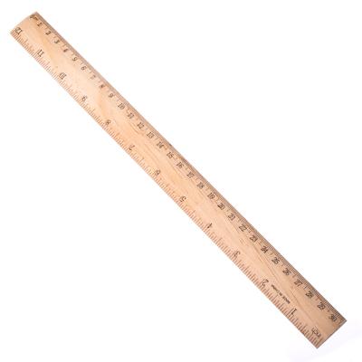 526-098 Линейка деревянная, 30см