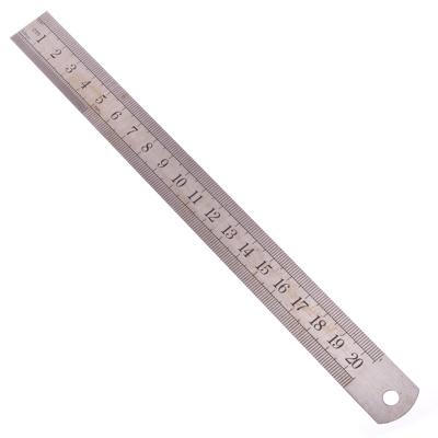 526-101 Линейка металлическая 20см