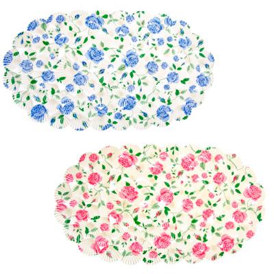 """462-429 Коврик для ванны противоскользящий, ПВХ, 68x38см, 2 цвета, VETTA """"Роза"""""""