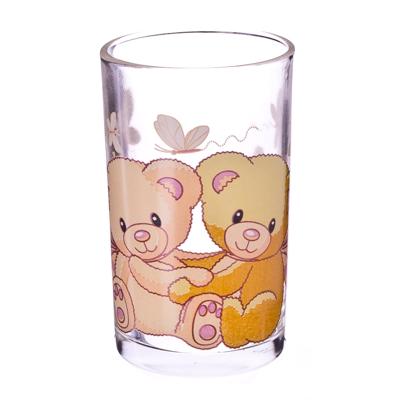 "878-001 VETTA Набор стаканов 6шт, стекло, 250мл ""Мишки"""