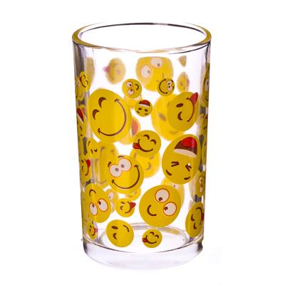 "878-007 VETTA Набор стаканов 6шт, стекло, 250мл ""Смайл"""