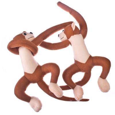 """491-248 Набор зажимов 2шт для штор, декоративные, полиэстер, 30х15х4,5см, """"Monkey"""", 3 цвета"""