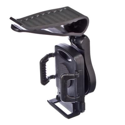 768-277 NEW GALAXY Держатель смартфона, универсальный, на козырек (высота не огранич., шир. 50-94мм)
