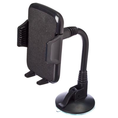 768-279 NEW GALAXY Держатель смартфона, на присоске универс на гибк штанге (выс не огранич., шир. 50-94мм)