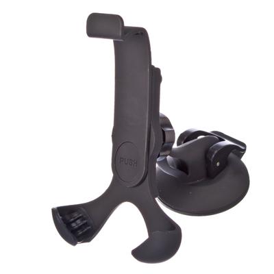 768-287 NEW GALAXY Держатель смартфона, универсальн на присоске с шарниром (выс 120-150мм, шир 60-85мм)
