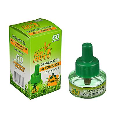 159-072 Дополнительный флакон жидкости от комаров ARGUS/ОБОРОНХИМ 30мл,без запаха, арт.AR-4/3/О-105