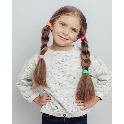"""316-053 Набор резинок для волос 4 шт.., полиэстер, d4  см, """"Модница"""""""