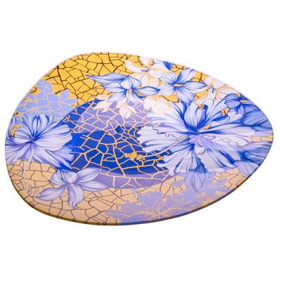 877-046 VETTA Наоми Блюдо треугольное стекло, 30см, S330012