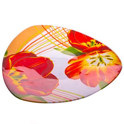 877-050 VETTA Моника Блюдо треугольное стекло, 25,4см, S330010