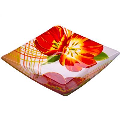 877-092 VETTA Моника Салатник квадратный стекло, 20,3см, S312008N