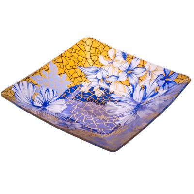 877-094 VETTA Наоми Салатник квадратный стекло, 203мм, S312008N