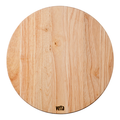 851-080 VETTA Доска разделочная гевея круглая d26x1,0см