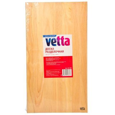 851-089 Доска разделочная, гевея, 45x25x1,5см, VETTA