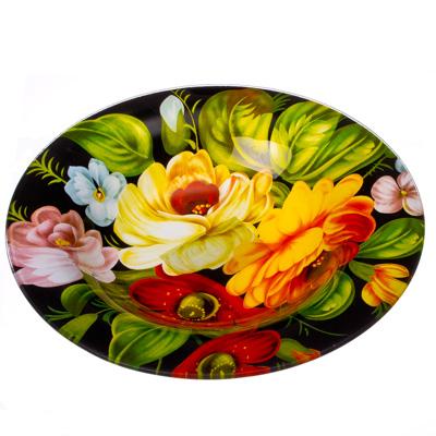 830-057 VETTA Жостово Тарелка суповая стекло 200 мм S3030-GC001, Дизайн GC
