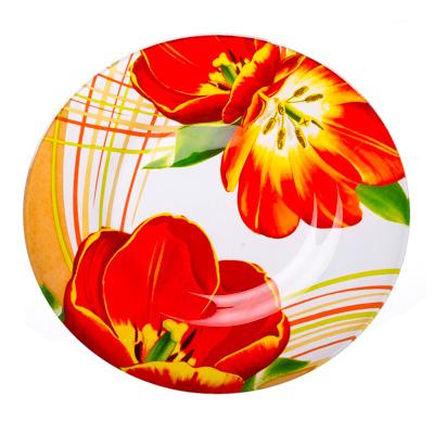 830-063 VETTA Моника Тарелка десертная стекло 200 мм S3008-GC001