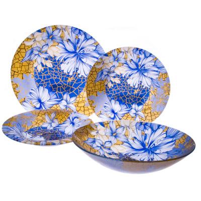 830-075 VETTA Наоми Набор столовой посуды 19 пр. стекло S3000/19-GC001
