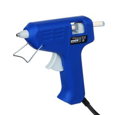 646-261 FALCO Пистолет клеевой электр. GG-20, 20Вт.нагрев 3-5 мин, 6 гр/мин, +2 стержня 7мм