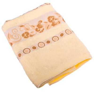 484-459 VETTA Полотенце банное, бамбук, 50x90см, Глория, жёлтое