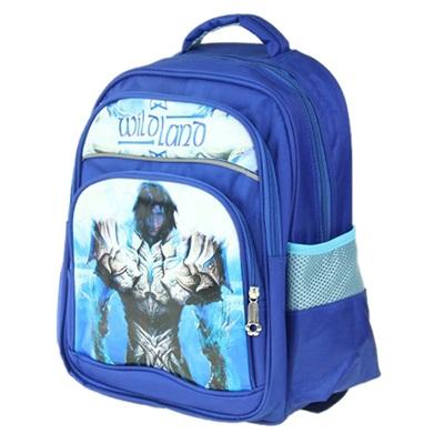 """526-128 Рюкзак для мальчиков, полиэстер, 35x29х14см, """"Космический воин"""""""