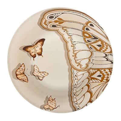830-099 VETTA Полет бабочки Тарелка суповая стекло 200 мм S3030