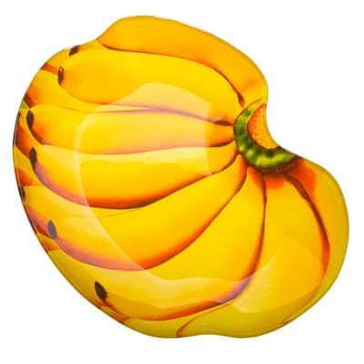 "877-173 VETTA Блюдо стекло, 25,4см, ""Бананы"", ВN0010"