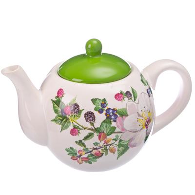824-305 Ягодная фантазия Чайник заварочный 730 мл, керамика