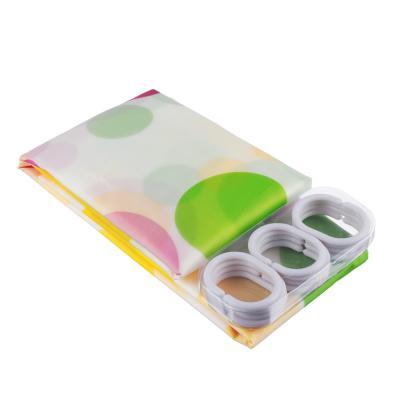 """461-324 VETTA Шторка для ванной, ПЕВА, 180x200см, """"Дельфины"""""""