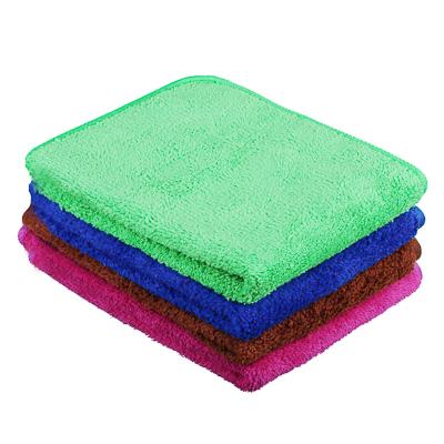 448-169 Салфетка для мебели из микрофибры, двухслойная, 30х40 см, 4 цвета, VETTA
