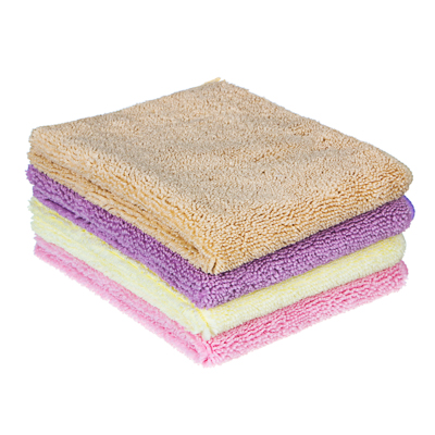 448-171 Салфетка для сухой уборки из микрофибры, 30х40 см, 300 гр./кв.м., 4 цвета, VETTA