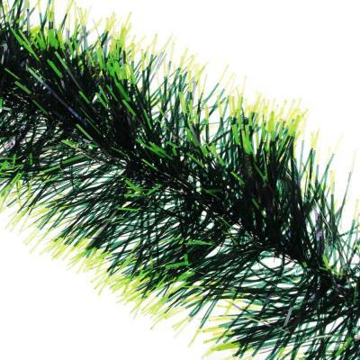 377-236 Мишура СНОУ БУМ из фольги, 200x12см, зеленая, SYCOT-042