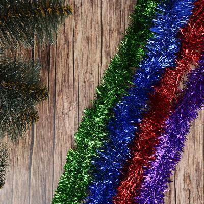 377-238 СНОУ БУМ Мишура из фольги, 200x6см, 4 цвета: красный, зеленый, фуксия, синий, SYCOT-053