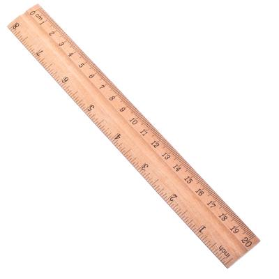 526-182 Линейка деревянная, 20см
