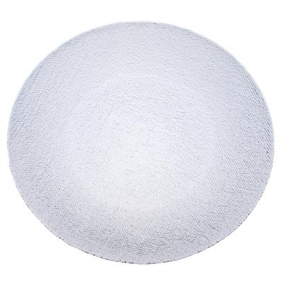 877-204 ARDA Cotton Тарелка подстановочная белая стекло 265мм
