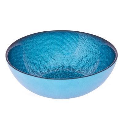 877-232 ARDA Cotton Салатник синий стекло 160мм