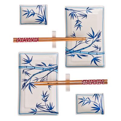 "839-006 Набор для суши 8 пр., керамика, ""Бамбук"""