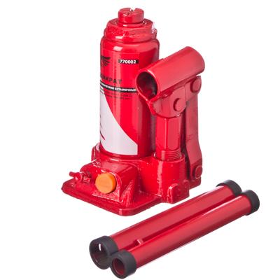 770-002 FALCO Домкрат гидравлический бутылочный 2 т, высота подъема 150-285мм